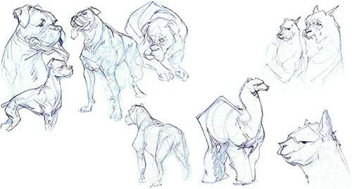 Life Drawing Gustavo Corrales Storyboard Artist