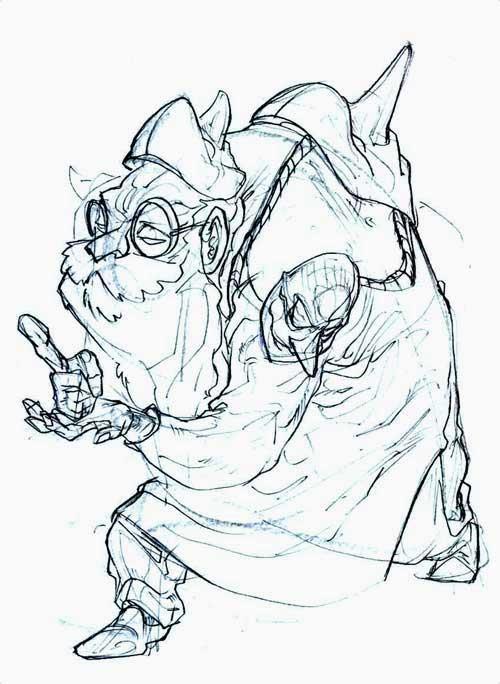 Quick Sketch Gustavo Corrales Storyboard Artist